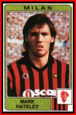 MARK HATELEY Milan (1984) www.goalhangers.co.uk