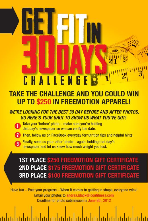 Office weight loss challenge flyer dianews for Weight loss challenge flyer template