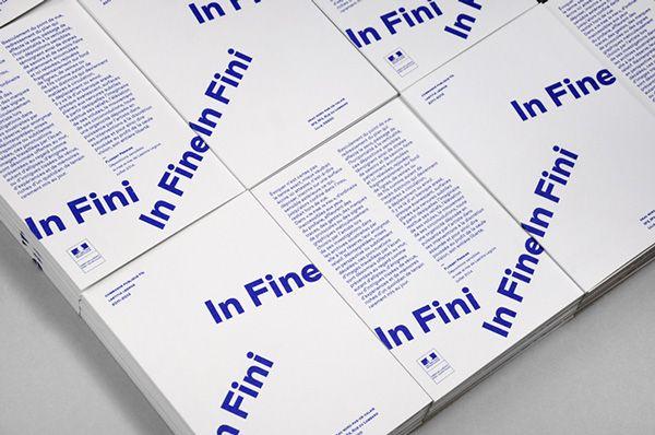 In Fine In Fini on Behance