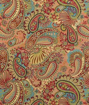 Using this fabric in my family room! Love it!