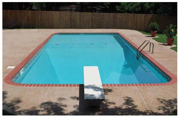 Rectangle Radius Ends In-Ground Pool Kits - Arthurs Pools