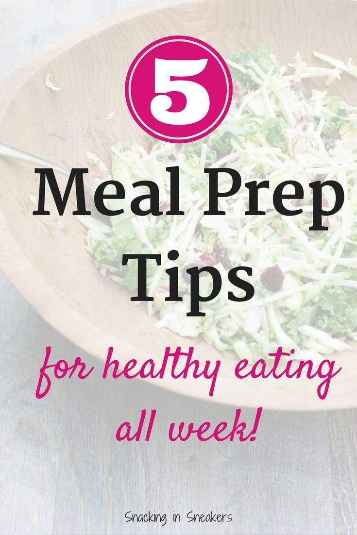 These 5 meal prep tips will help you with healthy eating all week long! (ad) | meal prep for the week | clean eating meal prep | meal prep on a budget