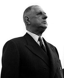 CHARLES DE GAULLE                                1958–62: Founding of the Fifth Republic             18th  President of France.
