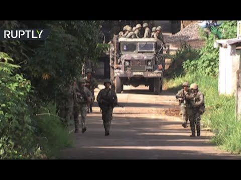Philippine army launches air strikes,starts offensive against ISIS-aligned group https://youtu.be/gA0ki6Wqn6Q  #silence4mindanao #philippines