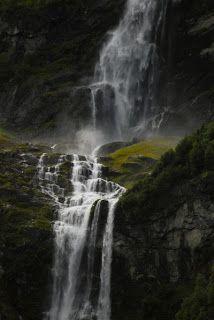 36 best noorwegen images on pinterest norway norway travel and places utigardsfossen ramnefjell loen the highest waterfall in norway ccuart Images
