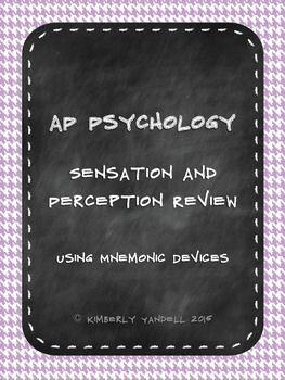 Sensation perception and attention essay