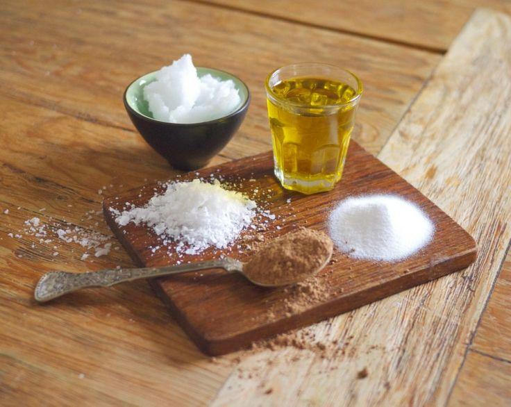 Naturlig hudpleie med ingredienser fra kjøkkenskapet