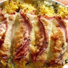 Ham-kaas-zuurkoolrolletjes uit de oven