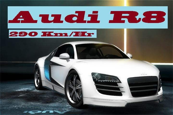 Audi R8 Coupe V10 Plus Need For Speed Rivals 2014 Test Drive Of Audi R8 Coupe V10 Plus Top Speed: 290Km/Hr Game: Need For Speed Rivals 2014 This is a Demo Drive only to show you how car Looks and Performs.