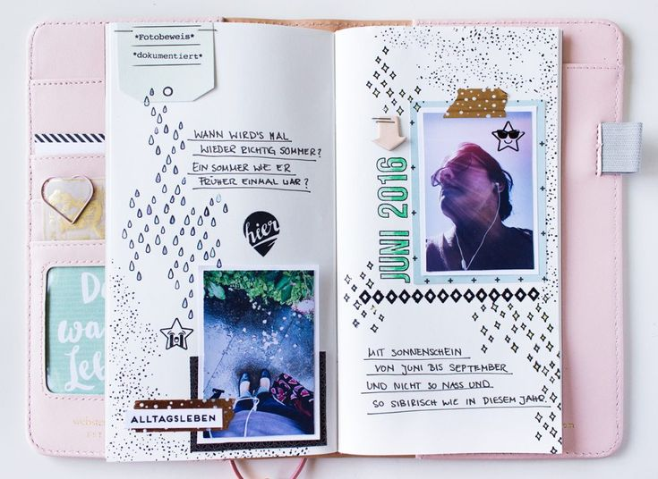 PAPIERPROJEKT Blog: Bebilderte Alltagsmomente im Traveler's Notebook