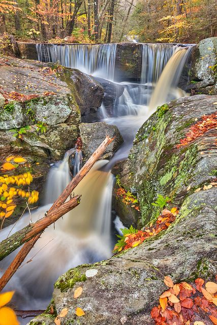 Enders Falls State Park, Granby, Connecticut, USA