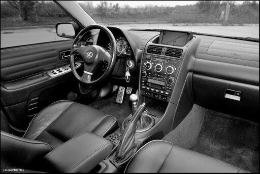 04 Lexus IS300 interior Cars, guns, & bikes