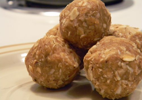 No Bake Protein Poppers
