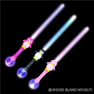 http://www.rinovelty.com/ProductDetail/GLPENSW_30--LIGHT-UP-PENGUIN-MAGIC-BALL-SWORD