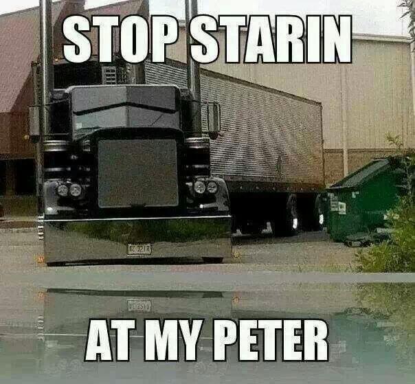 Peterbilt-Looks like Ritchie's truck