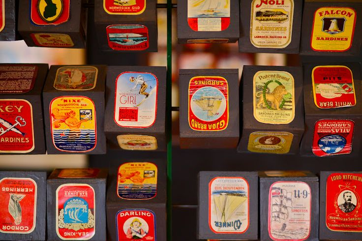 """""""Iddis"""" is a wonderfully quirky Norwegian word for sardine label collecting."""