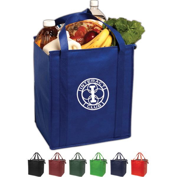 China Blank Promotional Cooler Bag, Cheap Insulated Tote Without LOGO
