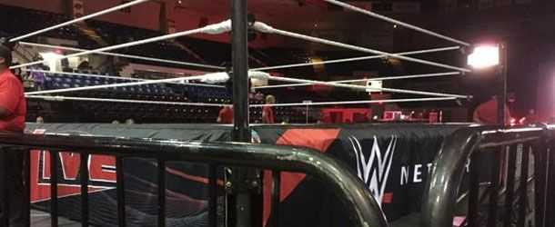 At Friday's WWE Live Event in Saginaw, Michigan a fan stormed the ring during the live event with the Prime Time Players, standing next to Titus O'Neil on the apron. O'Neil then forcibly removed the fan from the apron.