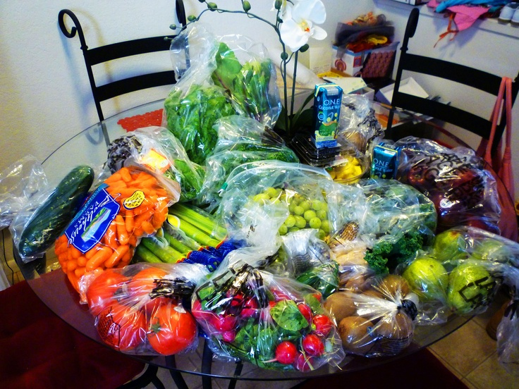 $30 worth of fruits and veggies for 3 days of juice!