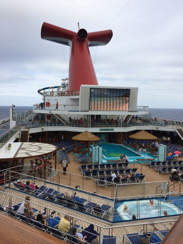 Lido Deck On Carnival Sunshine