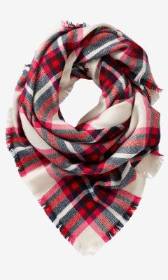 I have this blanket scarf from Express.....LOVE