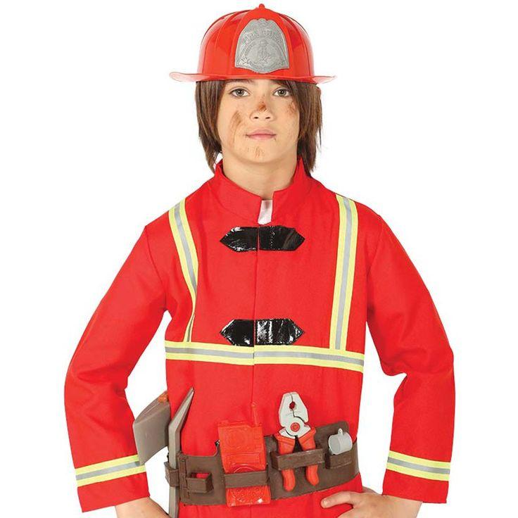 Fireman accessory kit child fancy dress fireman