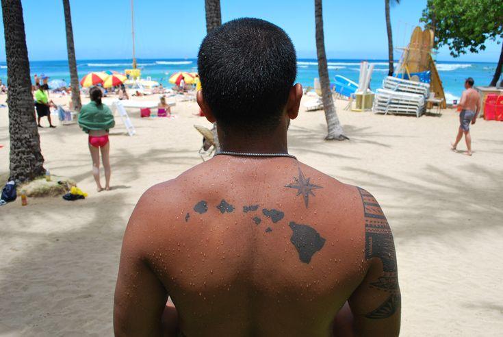 hawaiian island tattoo - Google Search