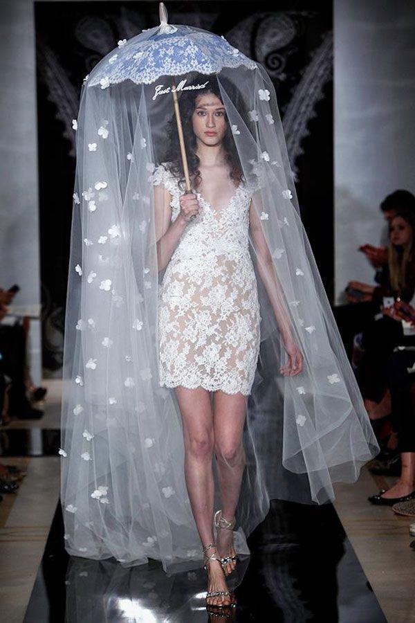Reem Acra — свадебные платья 2014