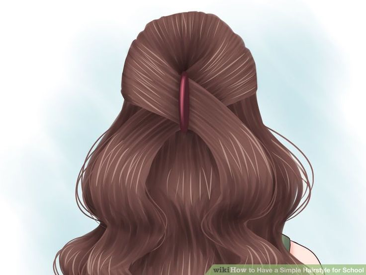 Excellent 1000 Ideas About Simple Hairstyles For School On Pinterest Short Hairstyles Gunalazisus