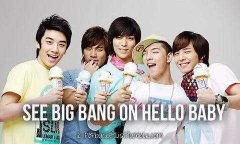 BIGBANG ♥♥  Hello Baby ♥♥