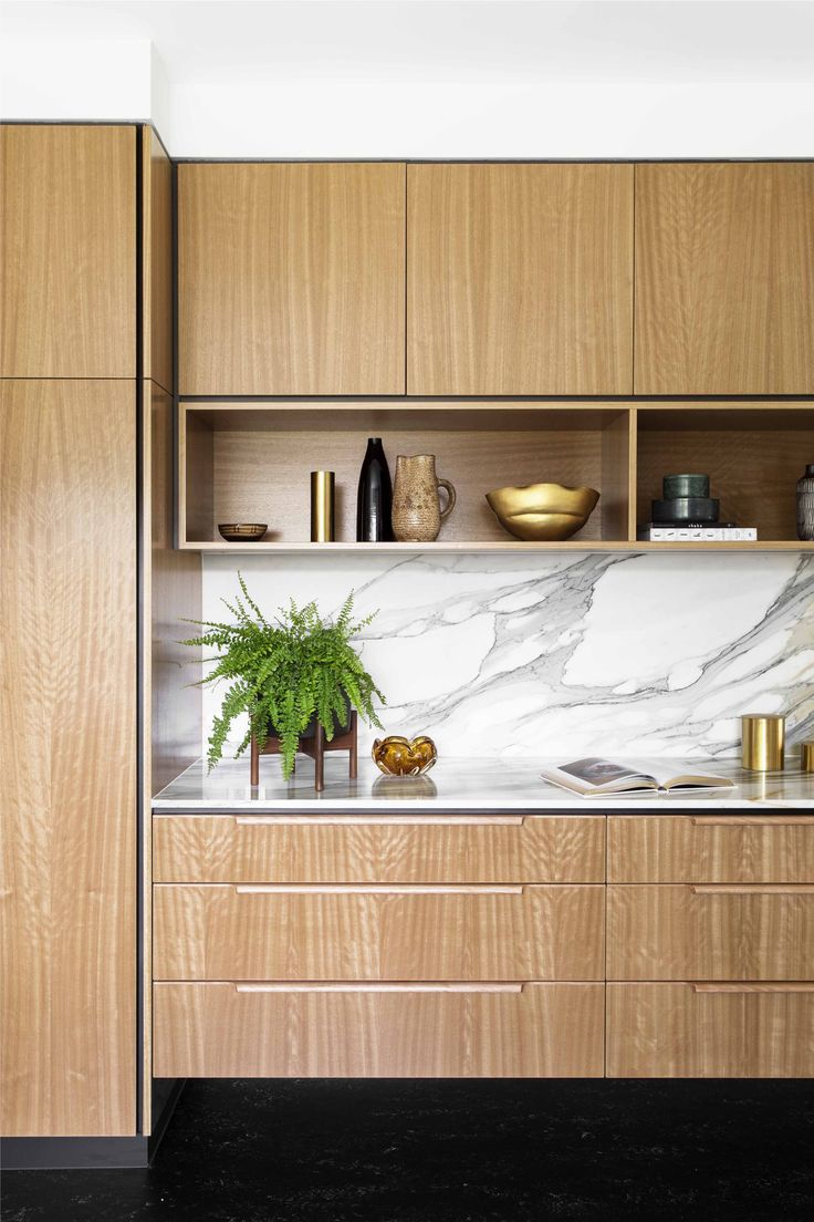 Cantilever K2 Kitchen with opulent 60's marble. | Photography by Martina Gemmola | Styling by Ruth Welsby | Made in Brunswick, Melbourne | www.cantileverinteriors.com