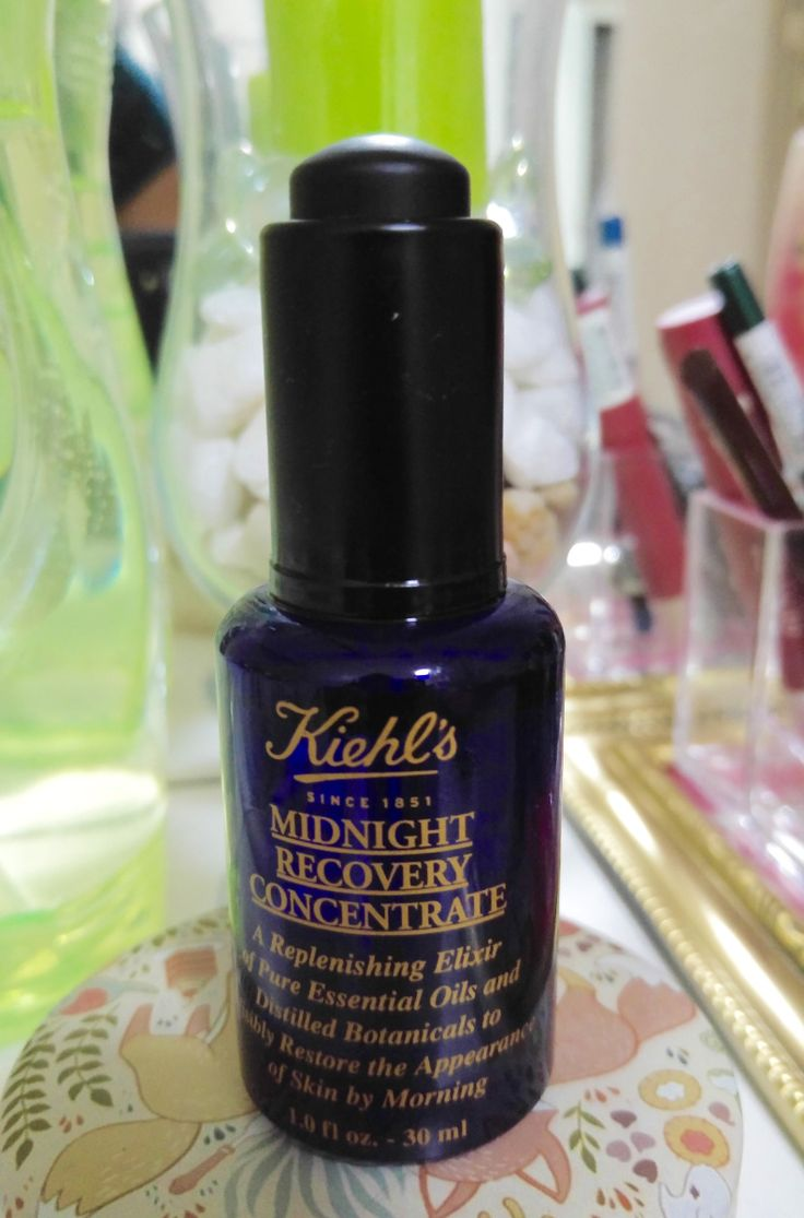 Hello My Lovely Girls, Hope you all are doing well! Today, I will be reviewingKiehl'sMidnight Recovery Concentrate.