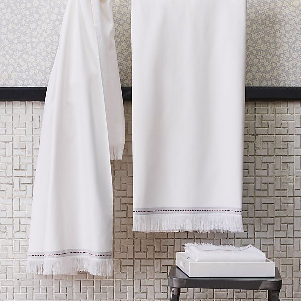 The Turkish Style Cotton Ups The Spa Factor In Any Bathroom. Self Finished