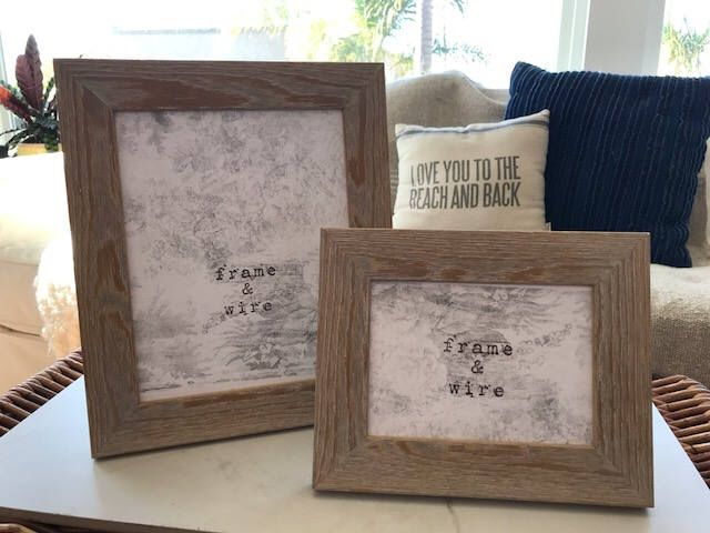 Excited to share the latest addition to my #etsy shop: White Washed Beach Picture Frame - White Washed Barn Wood Frame- 5x7, 8x10, 8.5x11, 11x14, 16x20, 20x24, 24x30- Custom Size Picture Frames