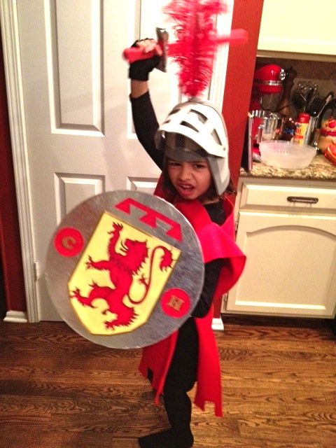 Homemade Knight Costume | ART-Y: Knight in a night: A homemade Knight costume