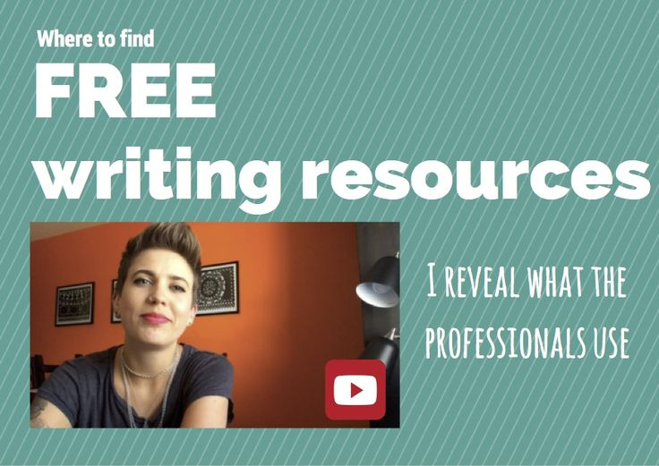 Tried and tested tools and resources for writers.