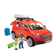 Playmobil Family SUV-to pull trailer-lol
