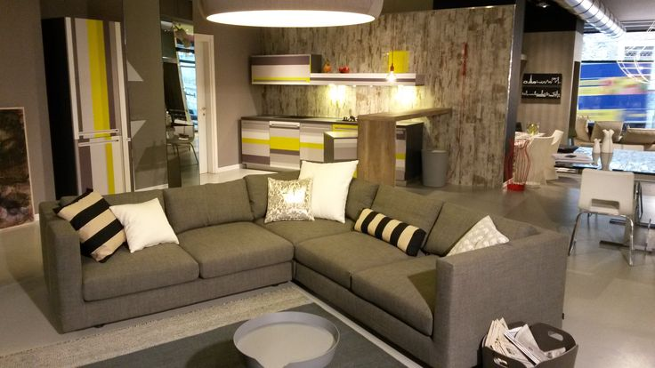 Total Living by De Rosso #relax #furniture #sofas #home #house #fashion #design #kitchen #arredamento #cucina #divano #mobili