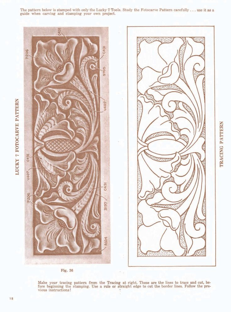 Best images about patterns for carving leather on