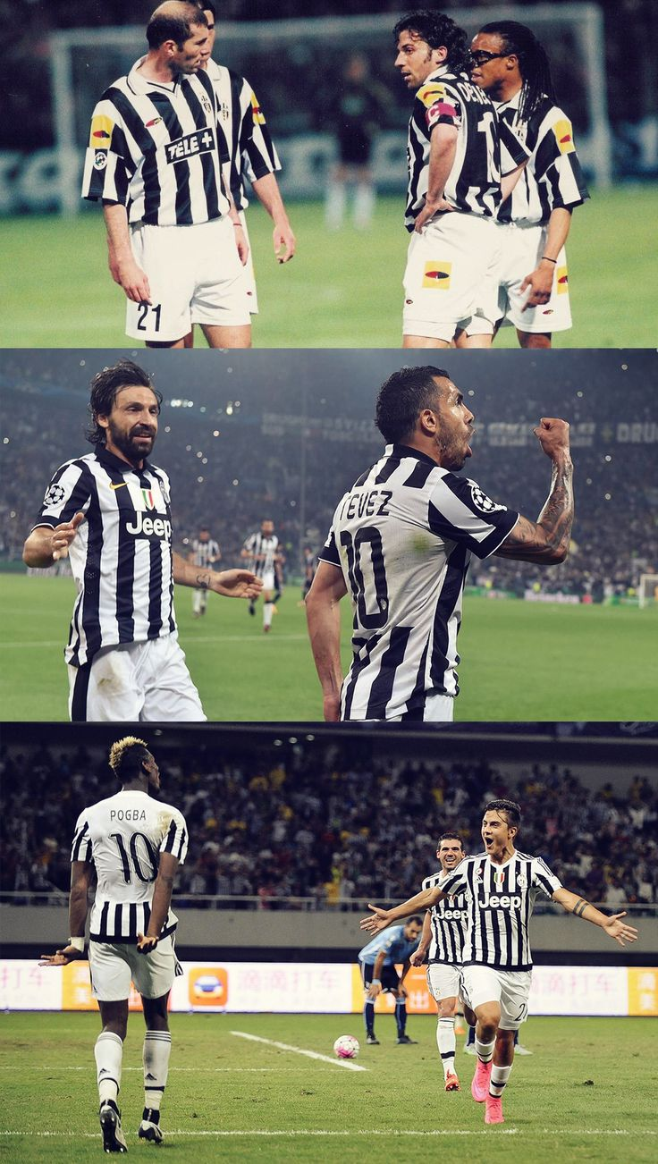 #21 and #10 shirts at Juventus Zidane and Del... - I LOVE JU: Juventus photoblog