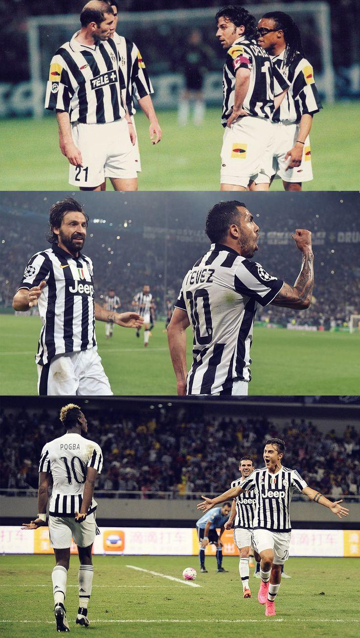 #21 and #10 shirts at Juventus Zidane and Del... - I LOVE JU: Juventus photoblog