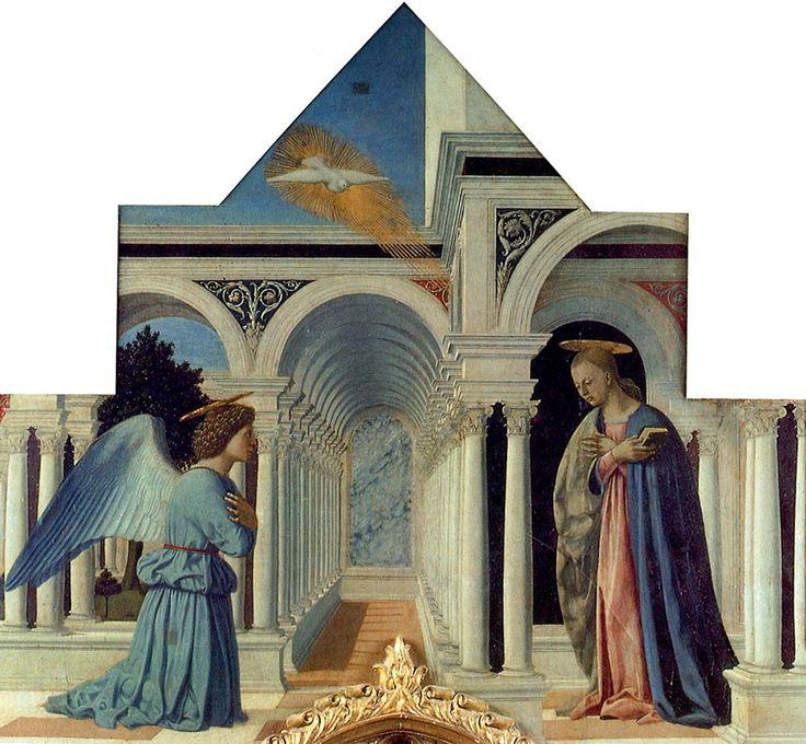 Полиптих Сан Антонио (фрагмент), 1465-1470 г. Национальная галерея Умбрии, Перуджа, Италия.
