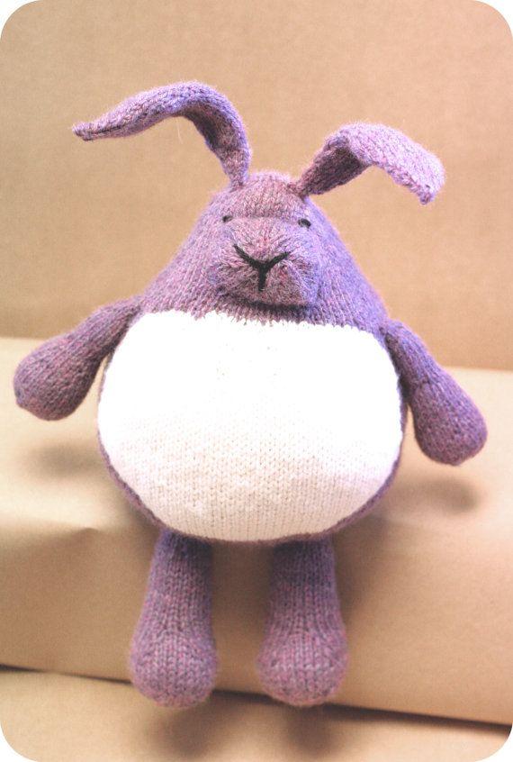 Conejo regordete por campandcompany en Etsy, $55.00