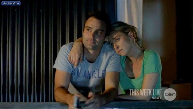 Offspring season 4 ep. 11 Patrick and Nina ...  Poor Nina :(