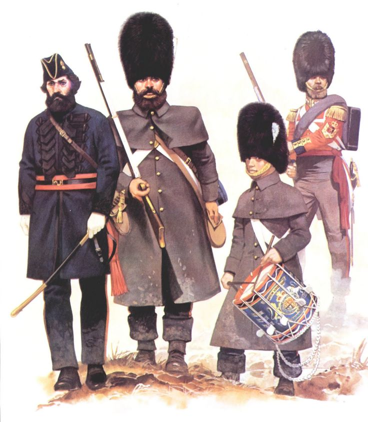 British Grenadiers, Crimean War