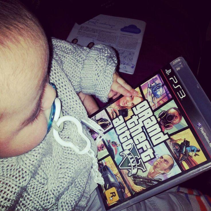 Son...look, this is #GTAV  #BabyGamer