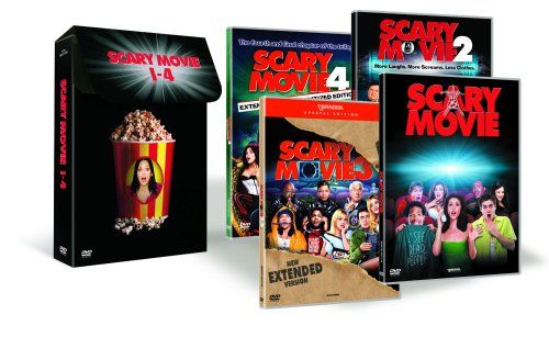 From 0.90 Scary Movie Collection: Scary Movie / Scary Movie 2 / Scary Movie 3 / Scary Movie 4 [dvd]