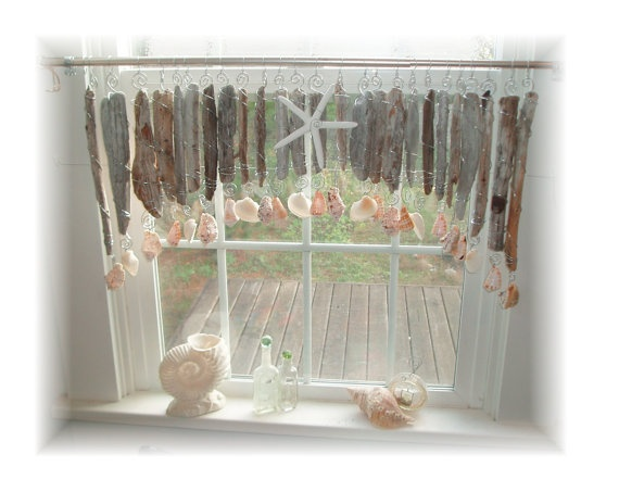 17 best images about seashell valances on pinterest window