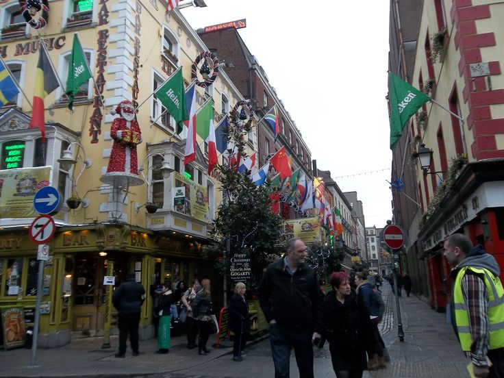 More Flags in Temple Bar, Impressive.