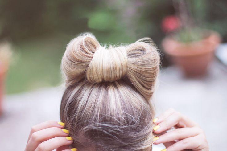 Tuto coiffure : le chignon noeud